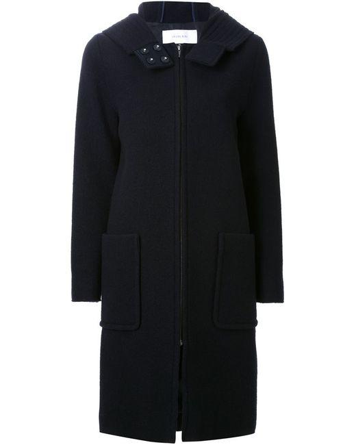 LE CIEL BLEU | Женское Синий Hooded Zip Coat