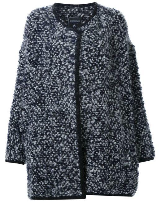 FADTHREE | Женское Синий Bouclé Short Coat