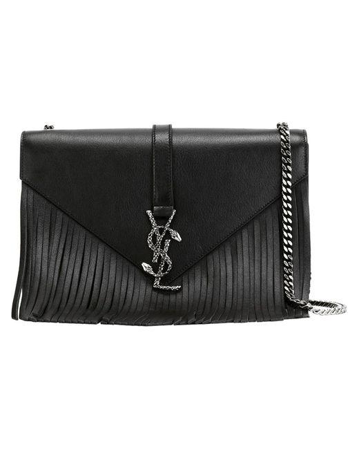 Saint Laurent | Женское Чёрный Monogram Shoulder Bag