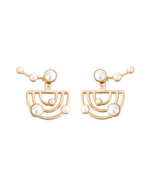 Eshvi   Женское Серебристый Astro Earrings