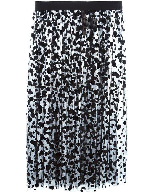 Antonio Marras   Женское Чёрный Polka Dot Tulle Skirt