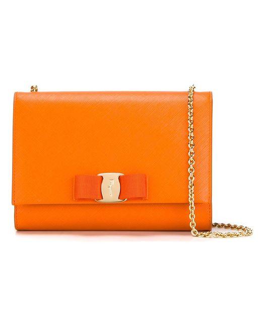 Salvatore Ferragamo | Женское Желтый Miss Vara Crossbody Bag