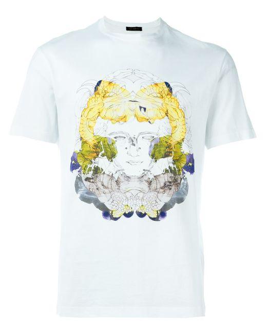 Versace | Мужское Белый Medusa Print T-Shirt