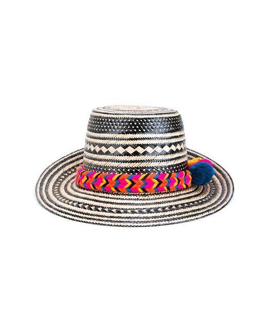 YOSUZI | Женская Многоцветная Шляпа С Помпоном