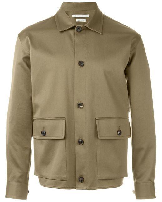 Marc Jacobs | Мужская Зелёная Куртка В Стиле Милитари