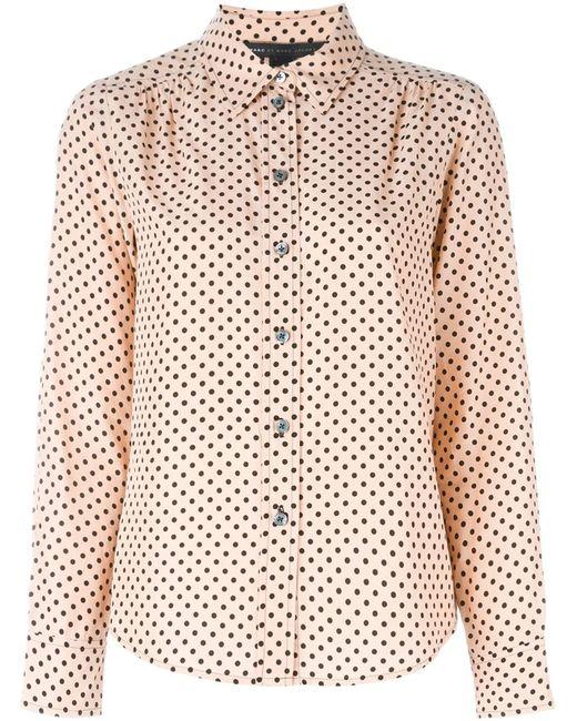 Marc by Marc Jacobs | Женская Розовая Рубашка В Горох