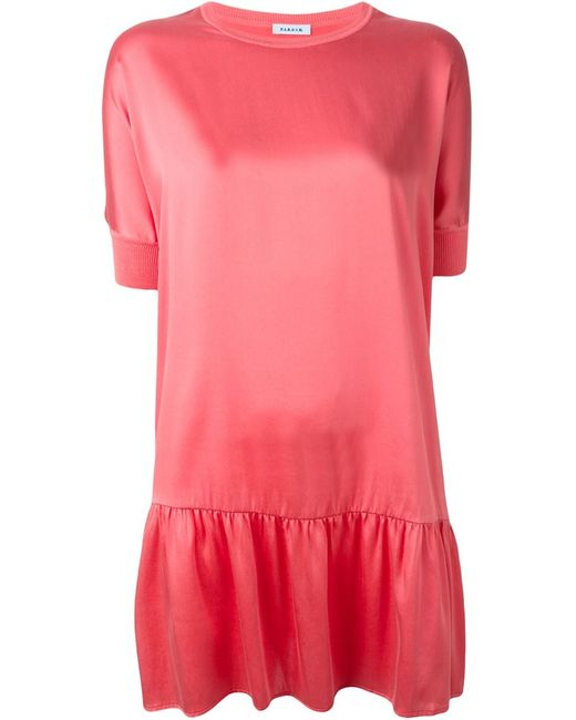 P.A.R.O.S.H. | Женское Розовое Платье Safira