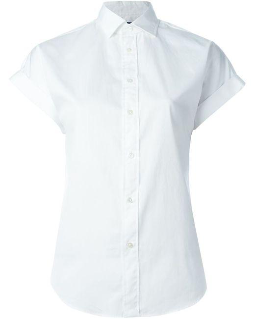 Polo Ralph Lauren | Женская Белая Футболка С Короткими Рукавами