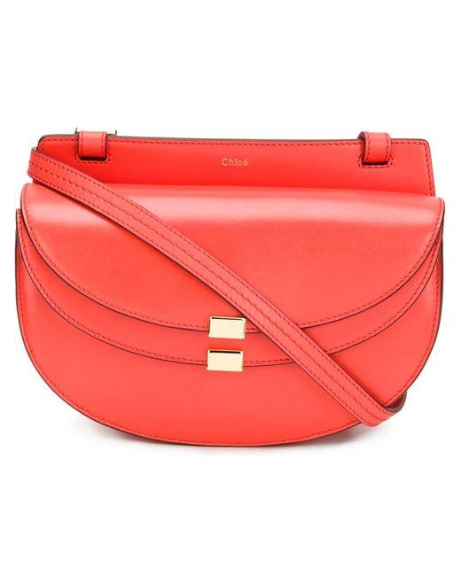 Chloe   Женское Красный Chloé Georgia Crossbody Bag