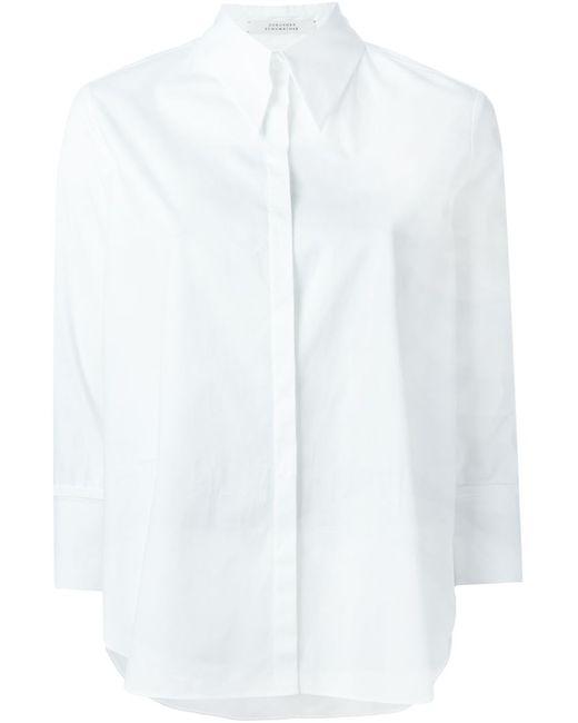 Dorothee Schumacher | Женская Белая Классическая Рубашка