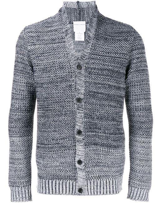 Stephan Schneider | Мужское Синий Shawl Collar Knitted Cardigan