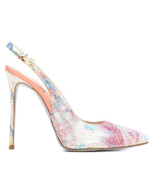 Rene' Caovilla | Женские Многоцветные Туфли Batik