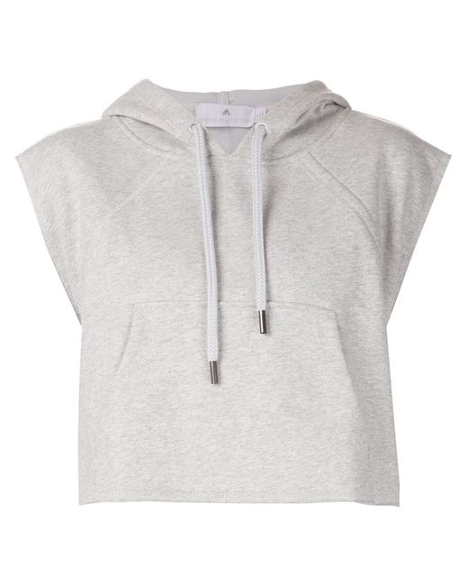 Adidas By Stella  Mccartney | Женское Серый Yo Crop Hoodie