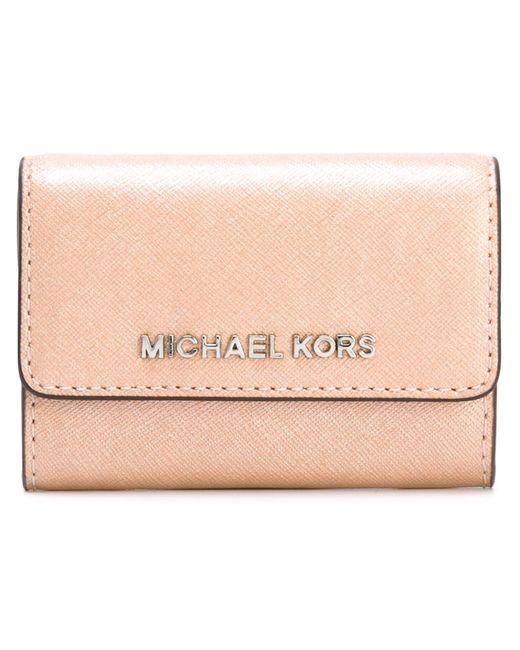 Michael Michael Kors   Женское Розовый Jet Set Travel Wallet
