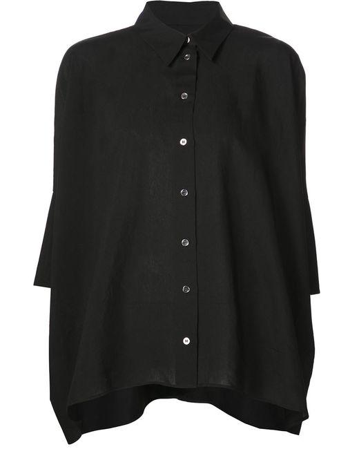 MM6 by Maison Margiela | Женское Чёрный Half Sleeve Loose Shirt