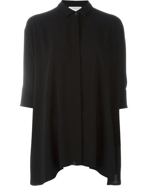 Alberto Biani   Женская Чёрная Рубашка Свободного Кроя