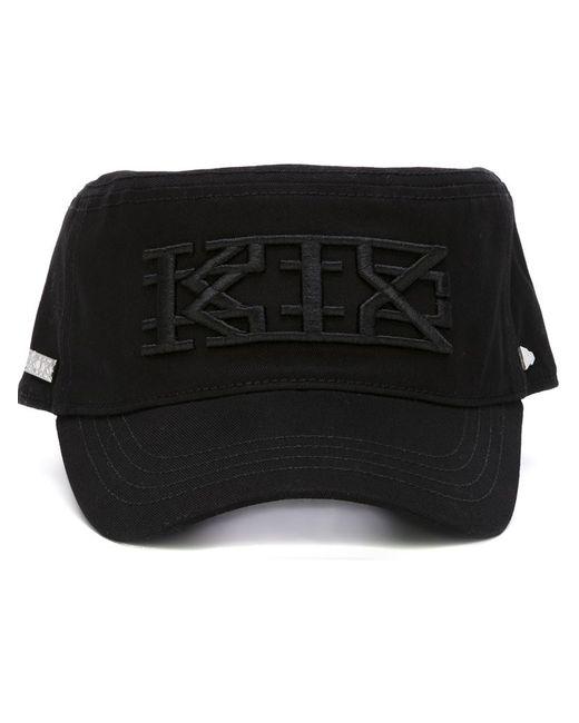 Ktz | Женская Чёрная Кепка С Вышивкой Логотипа X New Era
