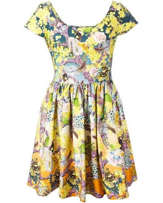 Mary Katrantzou   Женское Многоцветное Платье Marra