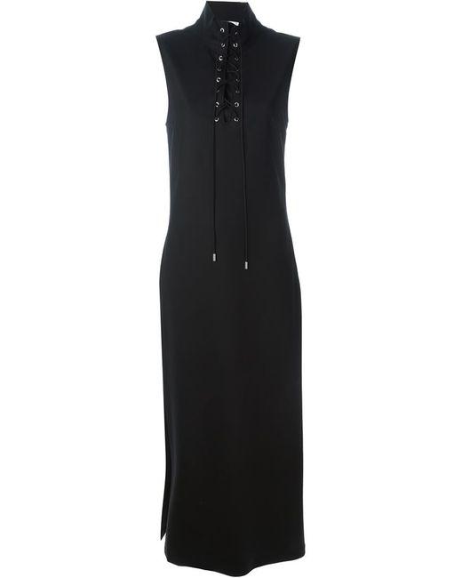 Alyx   Женское Чёрное Платье Макси