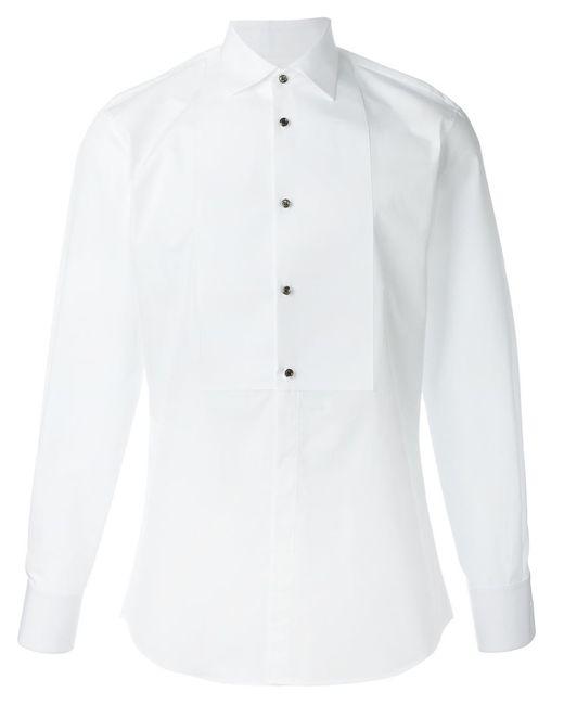 Dsquared2 | Мужская Белая Классическая Рубашка