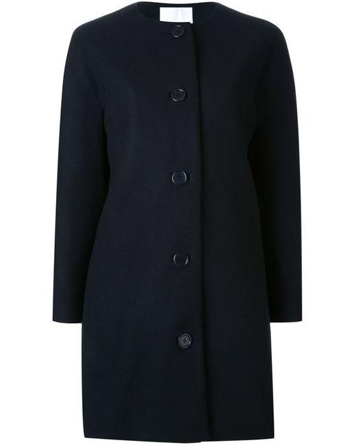 SCANLAN THEODORE | Женское Чёрное Пальто Без Воротника