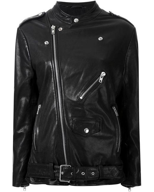 SCANLAN THEODORE | Женская Чёрная Байкерская Куртка
