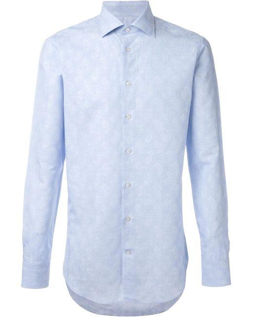 Etro | Мужское Синий Paisley Print Shirt
