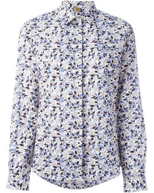 Fay | Женская Рубашка С Растительным Принтом