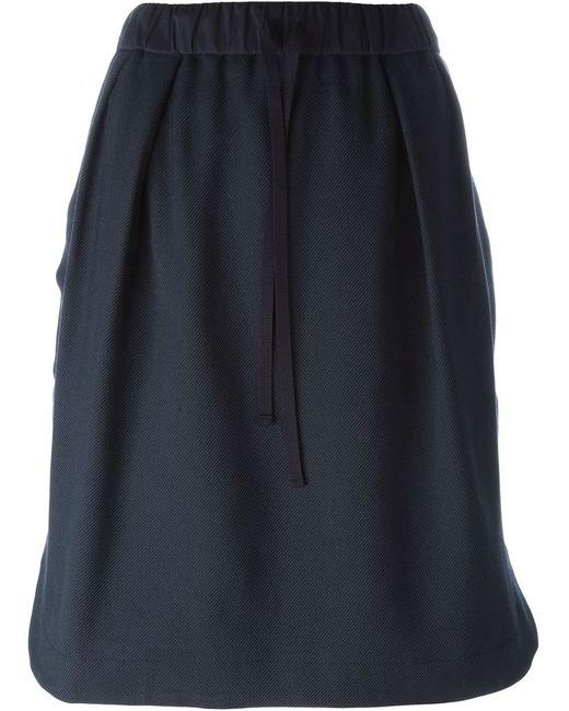 Odeeh | Женское Синий Drawstring Waist Skirt