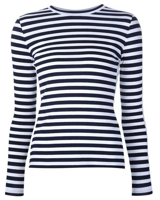 Natasha Zinko   Женское Белый Lace Panel T-Shirt
