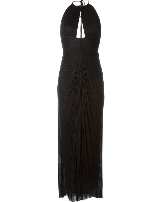 Maria Lucia Hohan | Женское Чёрное Платье Amer