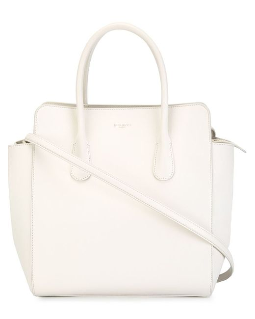 Nina Ricci | Женское Белый Youkali North-South Tote