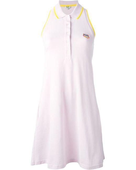 Kenzo | Женское Розовый Tiger Polo Dress