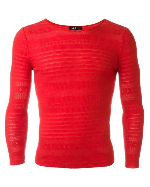 A.P.C.   Женское Красный Carla Mariniere Sweatshirt