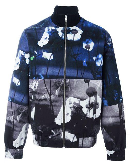 Mcq Alexander Mcqueen   Мужская Многоцветная Куртка-Бомбер С Принтом Hyper