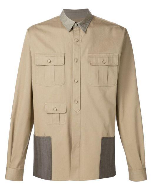 Valentino | Мужское Nude & Neutrals Flap Pocket Shirt