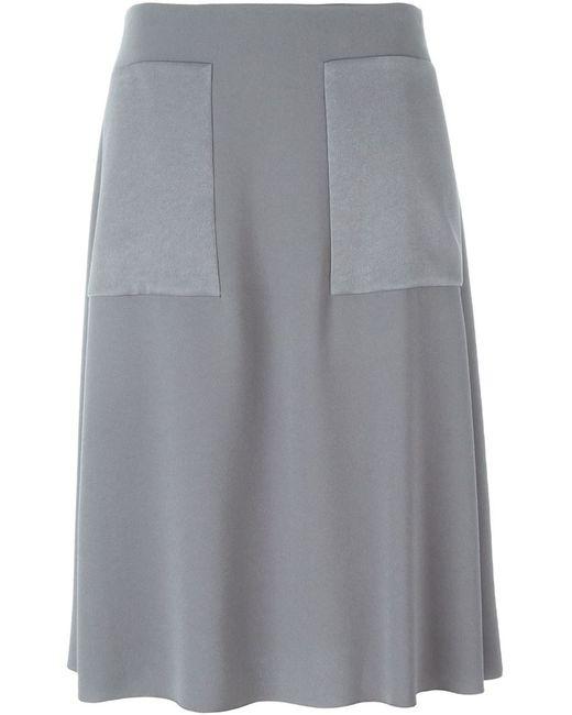 Joseph | Женское Серый Oversized Pockets Skirt