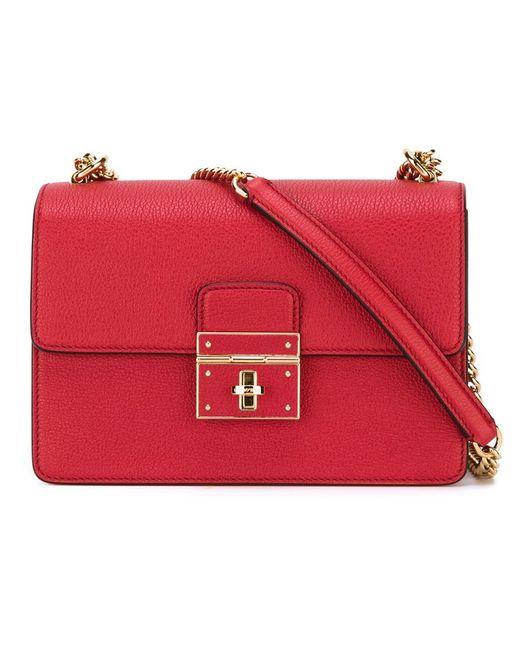 Dolce & Gabbana | Женская Красная Сумка Rosalia