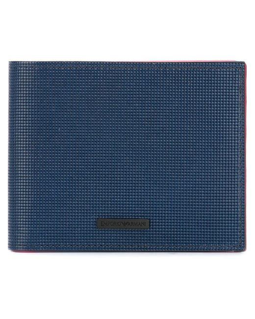 Emporio Armani | Мужское Синий Billfold Wallet