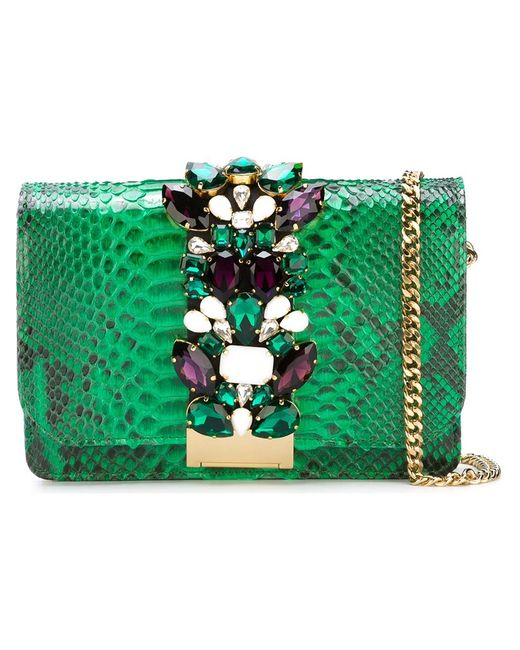 Gedebe | Женское Зелёный Jungle Cross Body Bag