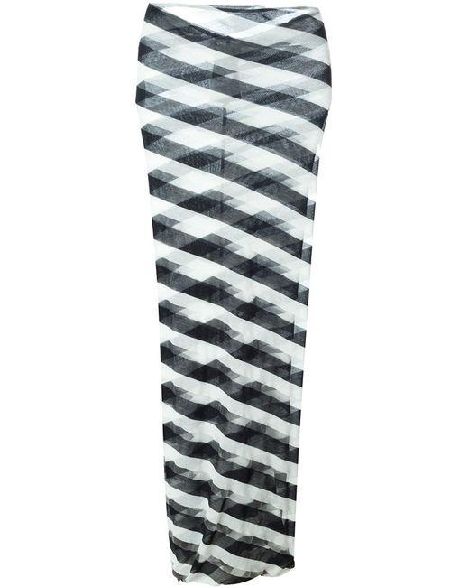 Stella Mccartney | Женское Синий Checks Pencil Skirt