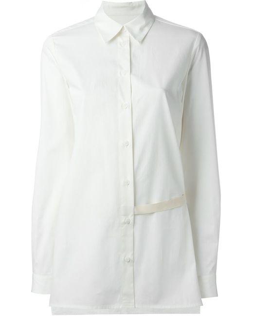MM6 by Maison Margiela | Женское Nude & Neutrals Strap Detail Shirt