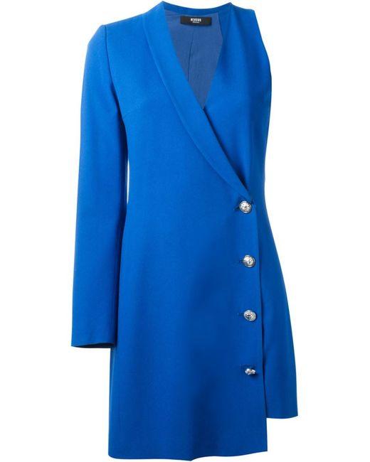 Versus | Женское Синее Платье С Запахом