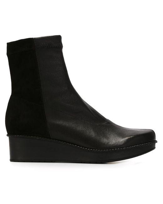 Robert Clergerie   Женские Чёрные Ботинки Noa