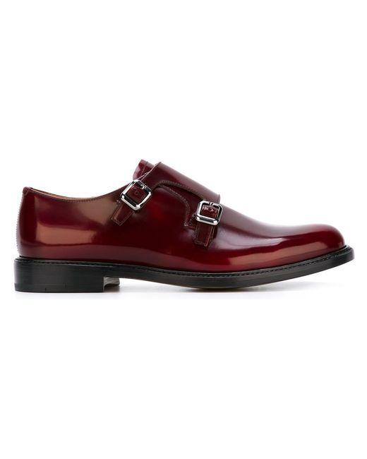 Church'S | Женские Красные Туфли-Монки