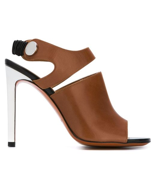 Carven | Женское Коричневый Stiletto Sandals