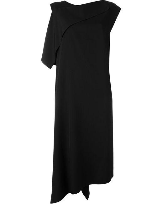 Yohji Yamamoto | Женское Чёрный Asymmetric Shift Dress
