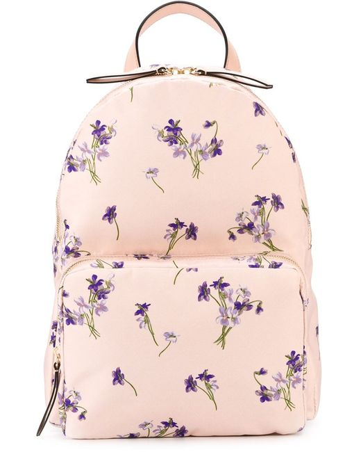 Red Valentino | Женское Розовый Print Backpack