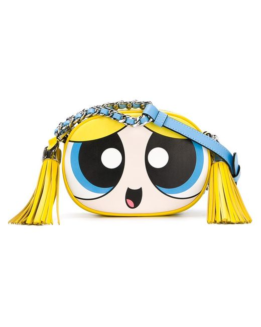 Moschino | Женское Желтый Powerpuff Girls Crossbody Bag