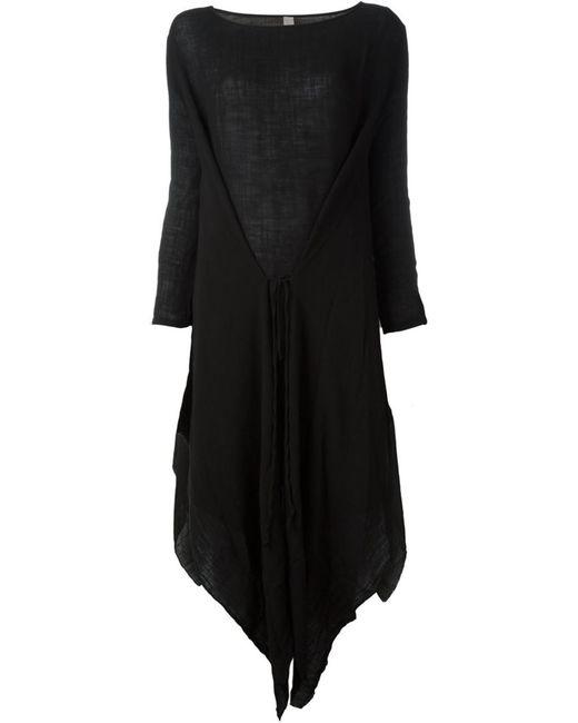 Poème Bohèmien | Женское Чёрный Long Asymmetric Dress